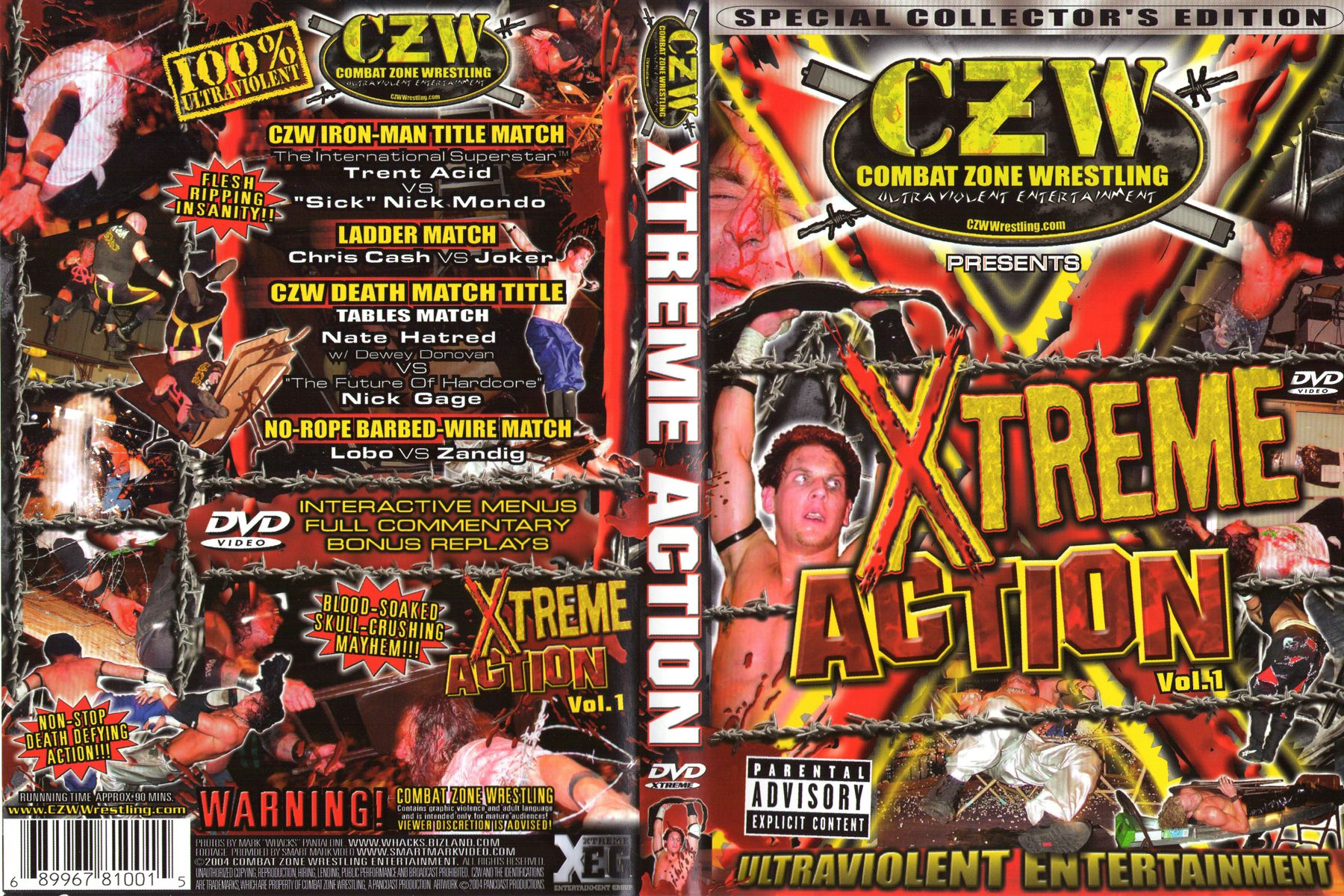 czw xtreme action