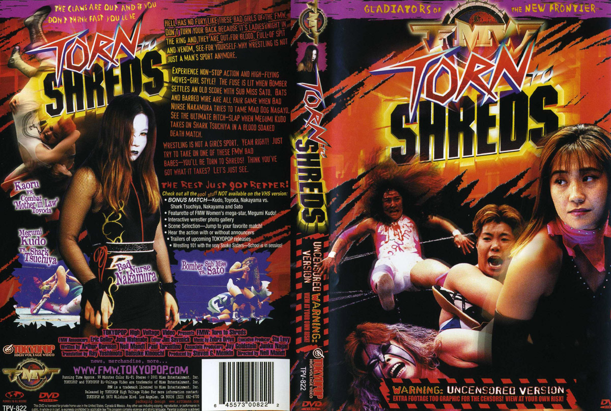 Torn shreds