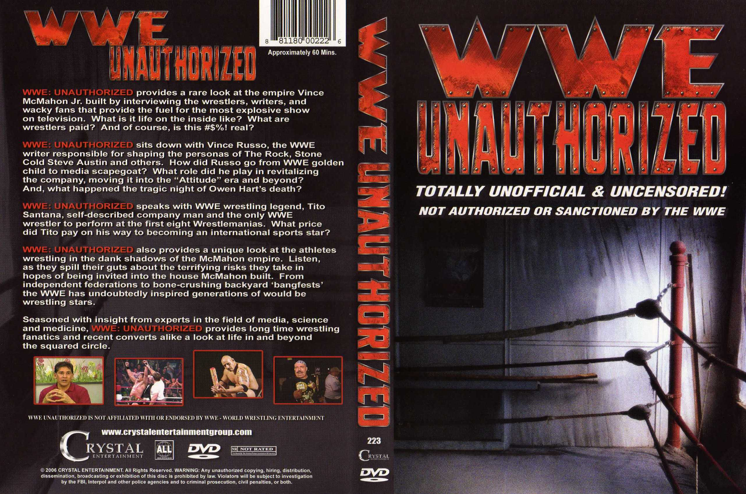 wwe unauthorized