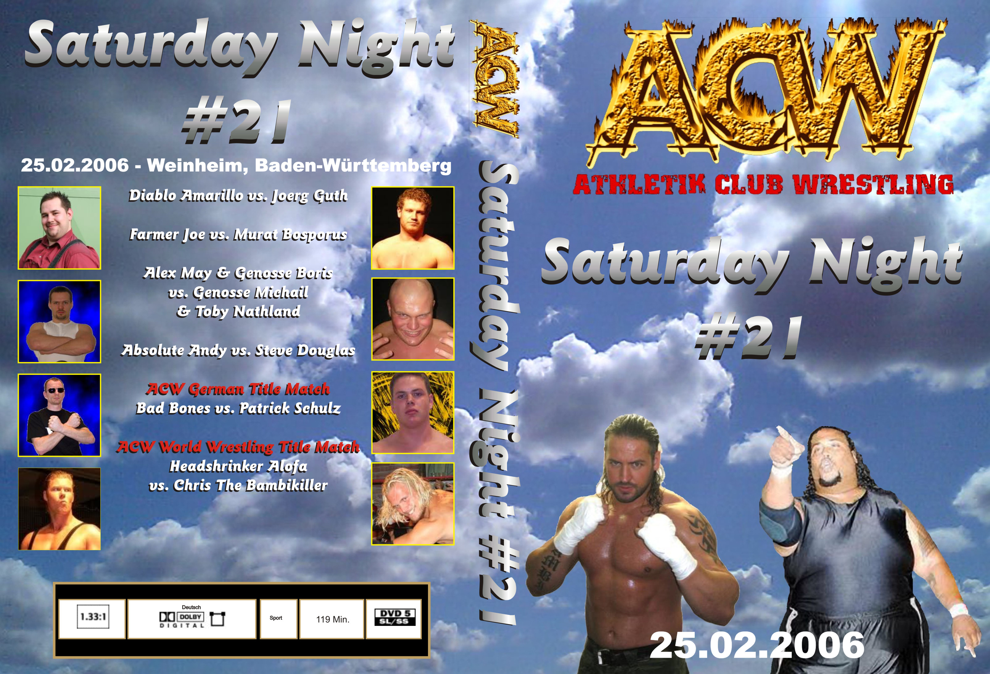 ACE Saturday Night #21 - Cover
