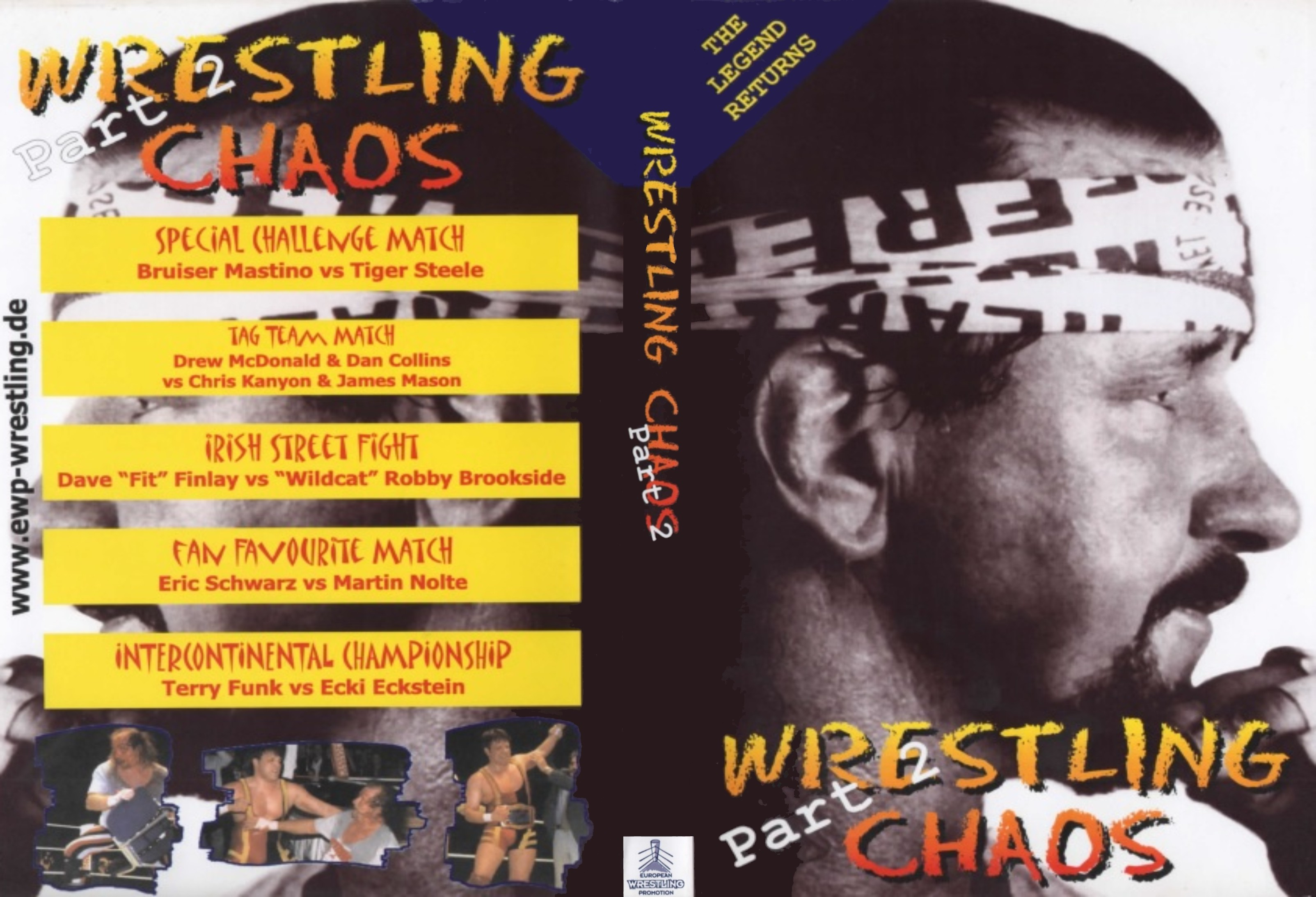 EWP Wrestling Chaos 2001 - Tag 2 - Cover