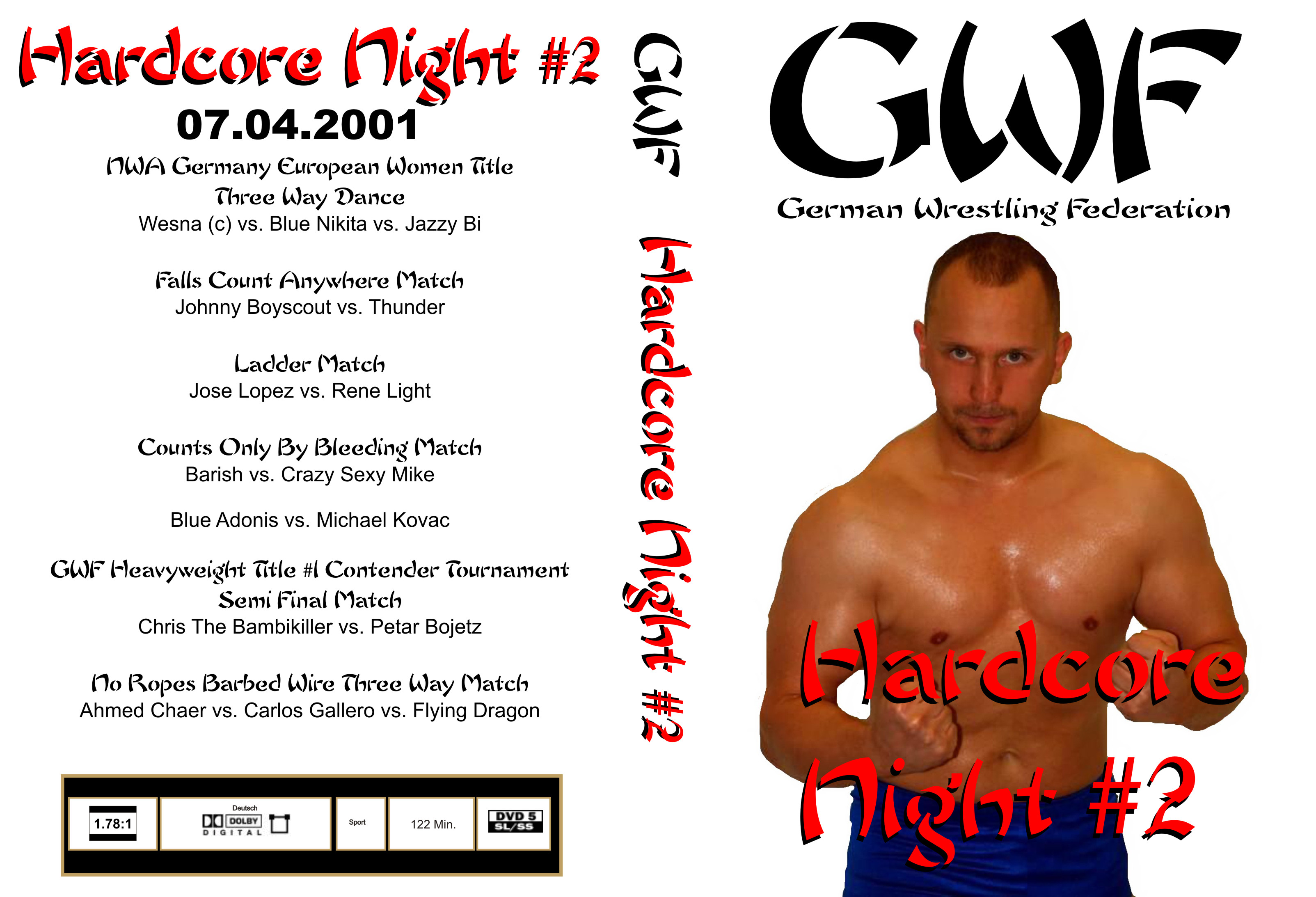 GWF Hardcore Night #2 - Cover