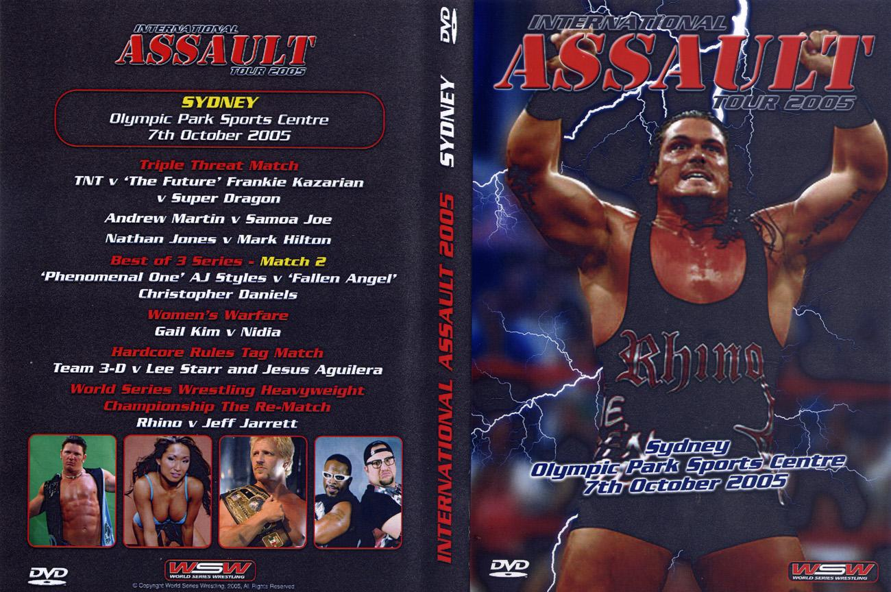 InternationalAssaultTour2005DVDCove