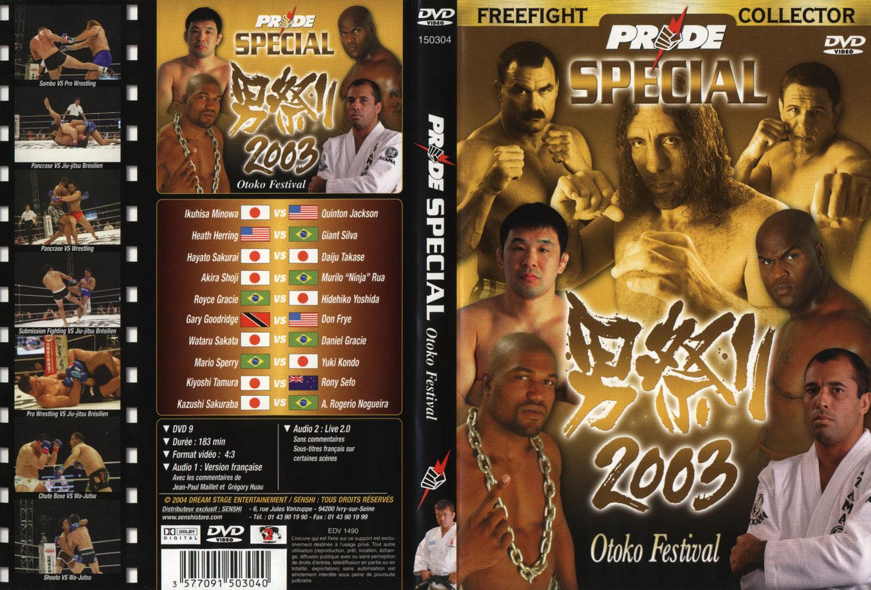 2003 Special Otoko Festivalfront