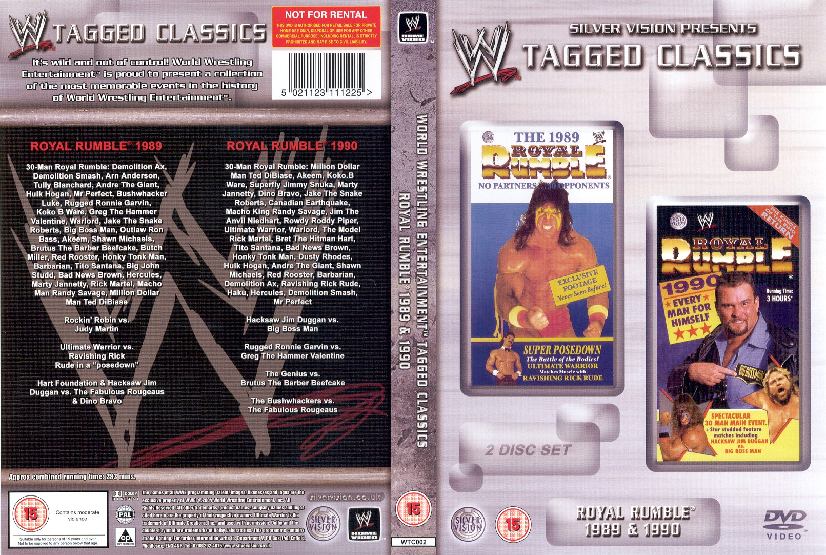 Royal Rumble 1989 & 1990