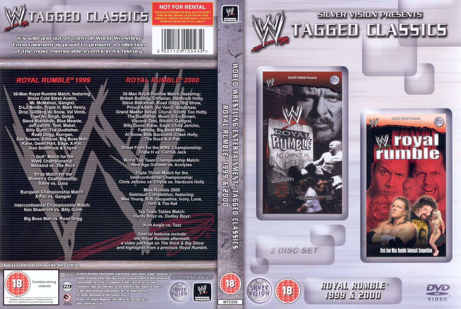 Royal Rumble 1999 & 2000