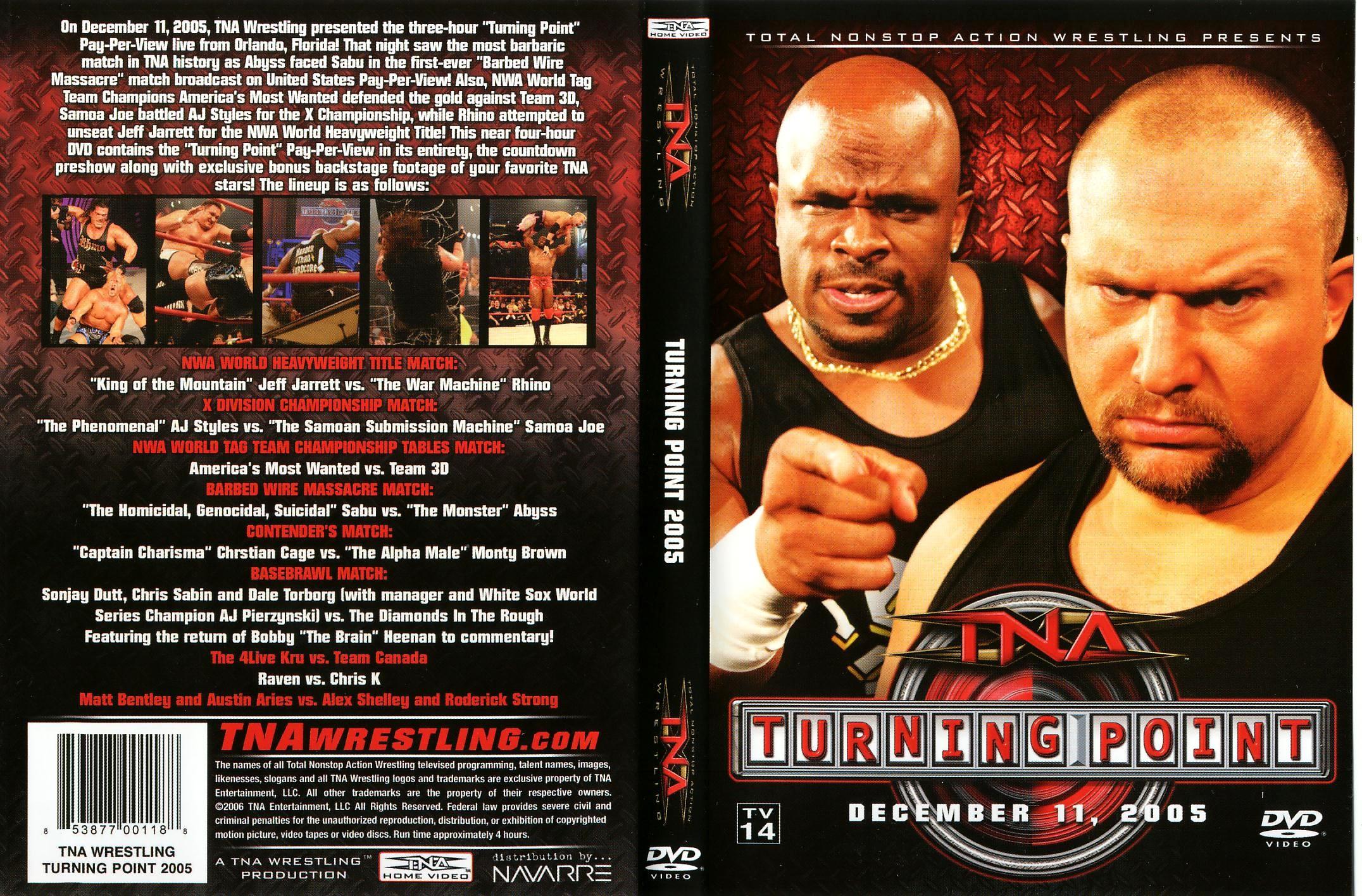 list of tna wrestlers