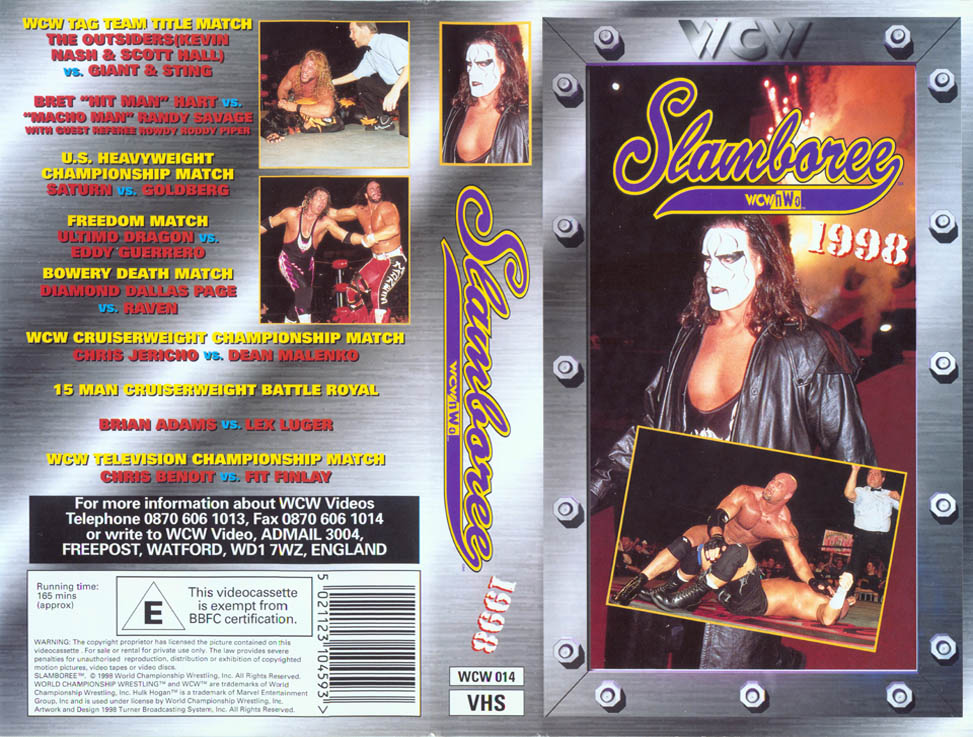 WCW COVER - SLAMBOREE 98