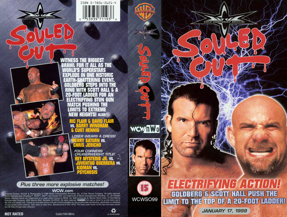 WCW COVER - SOULED OUT 99