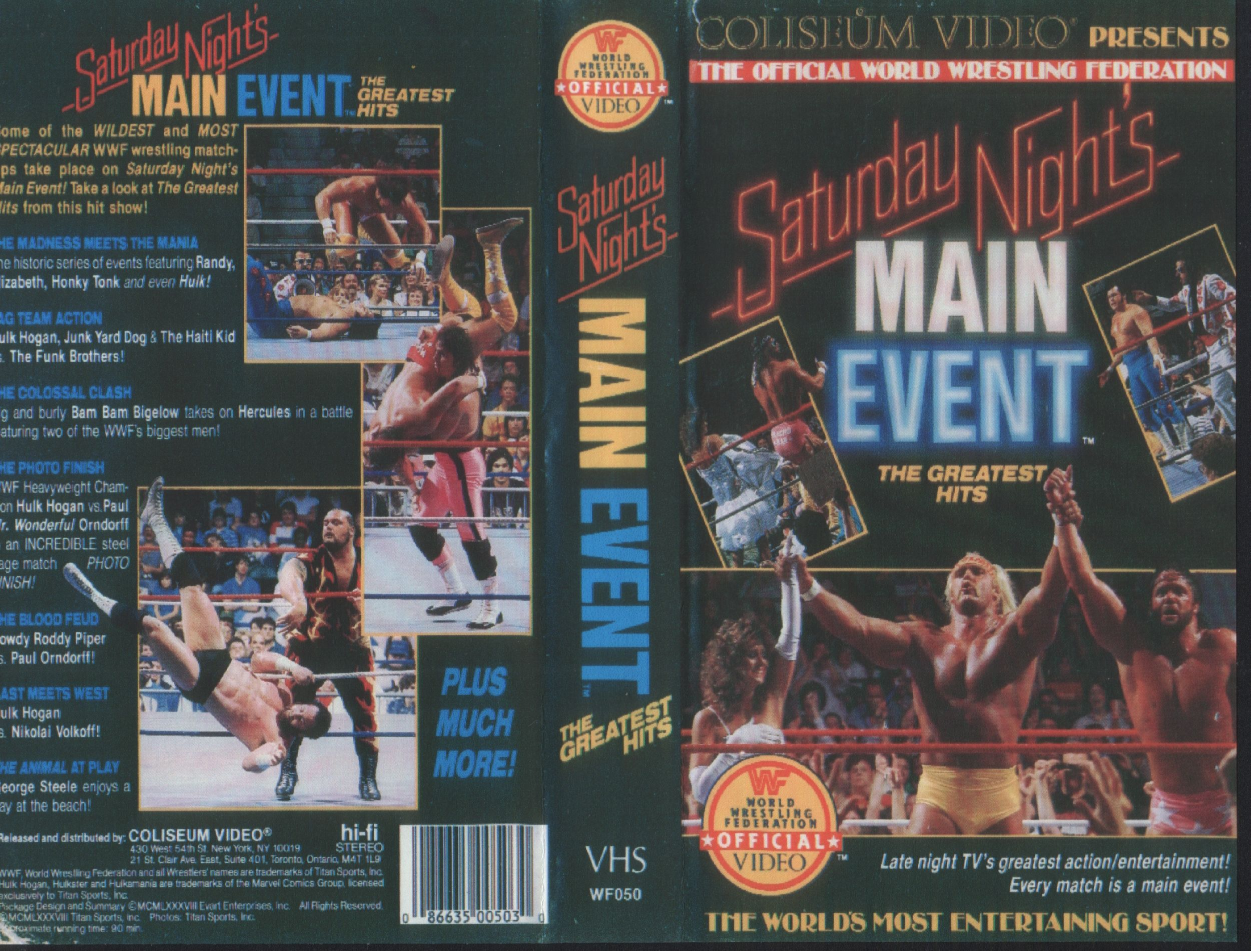 WF050_WWF_Saturday_Night_Main_Event_The_Greatest_Hits_-_Cover