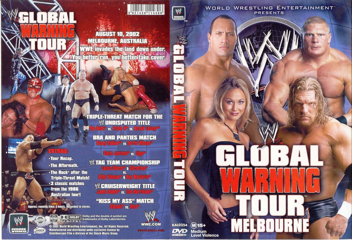WWE Global Warning Tour Melbourne