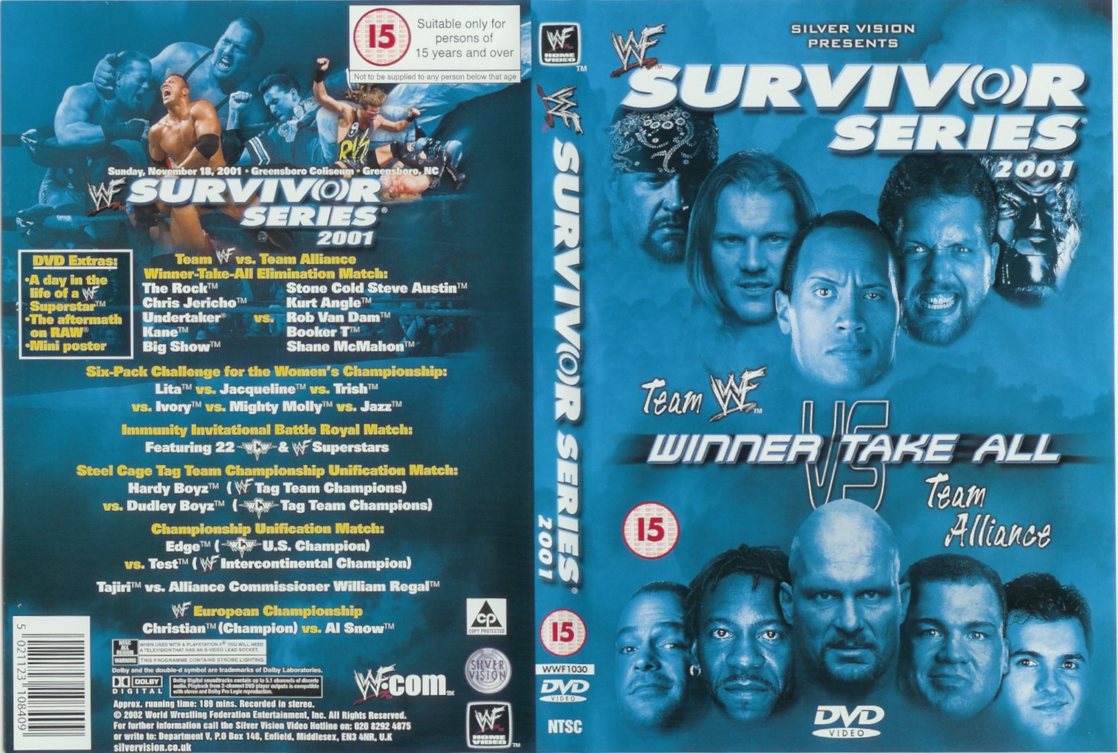 WWE Survior Series 2001