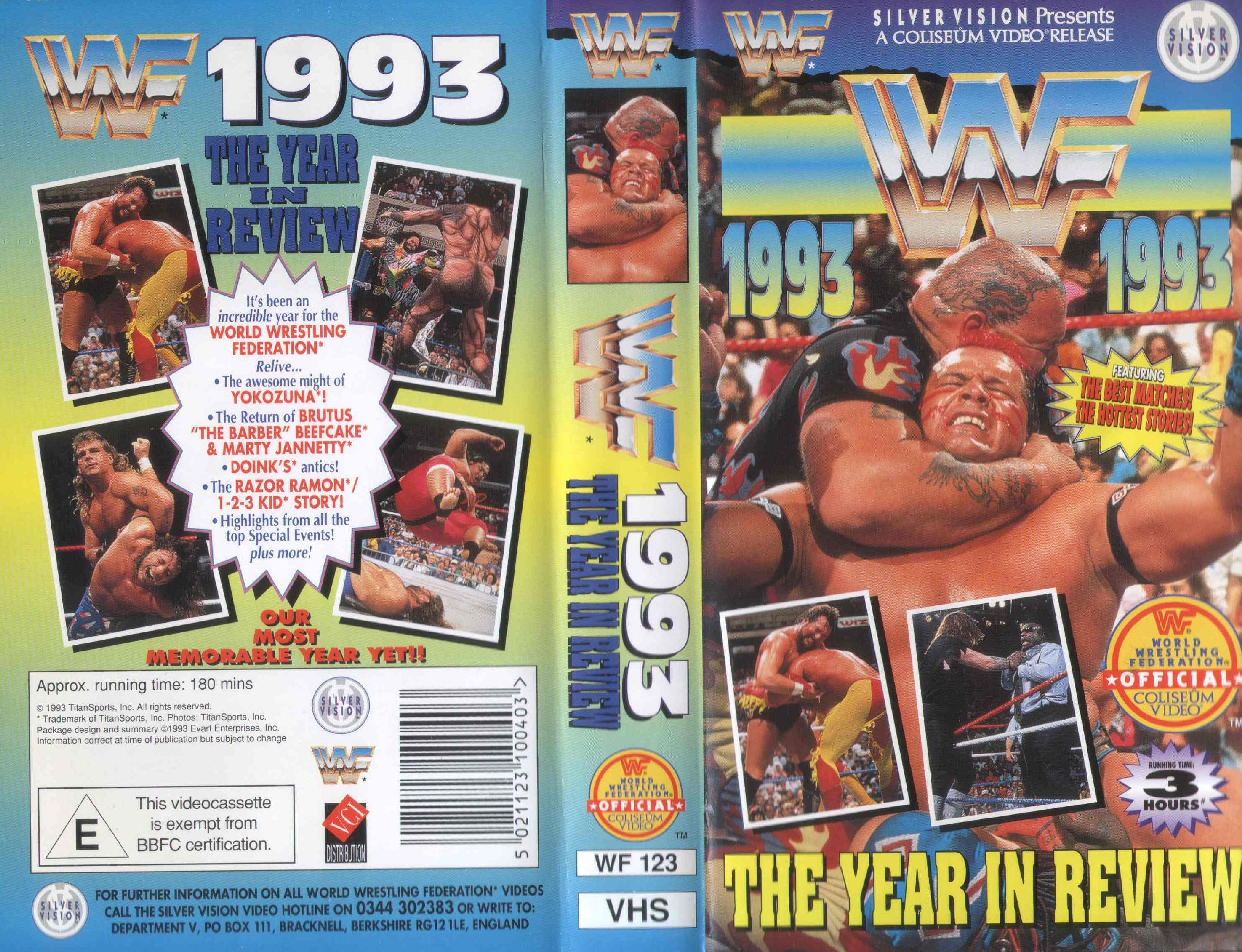 WWF_1993_Year_in_Review_(WF123)_-_Cover