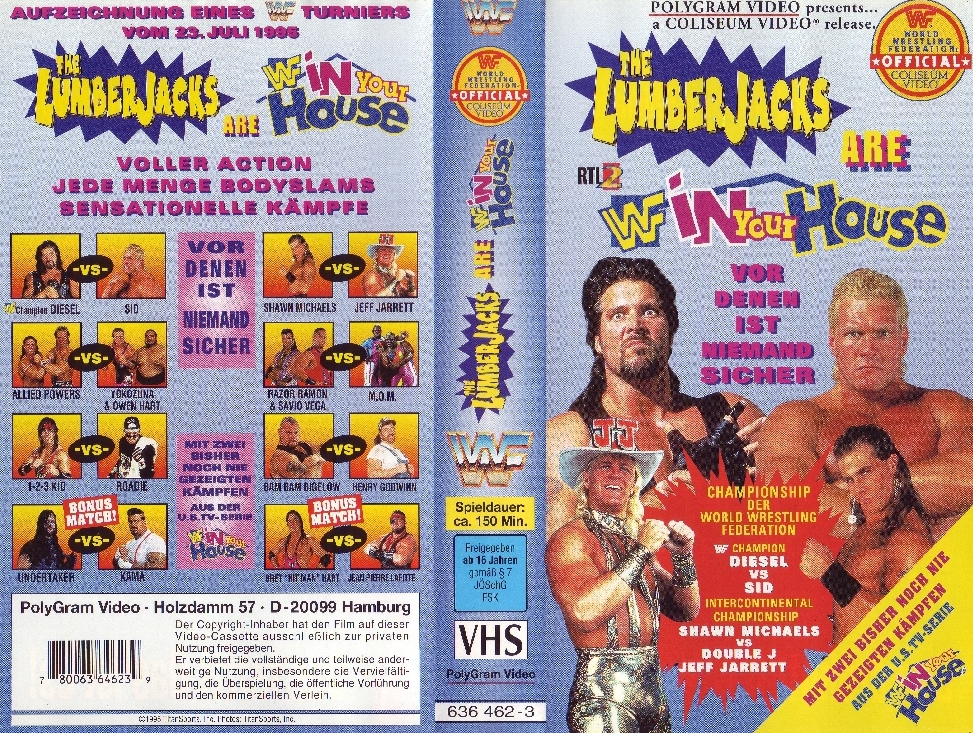 WWF_In_Your_House_02_-_The_Lumberjacks_-_Cover