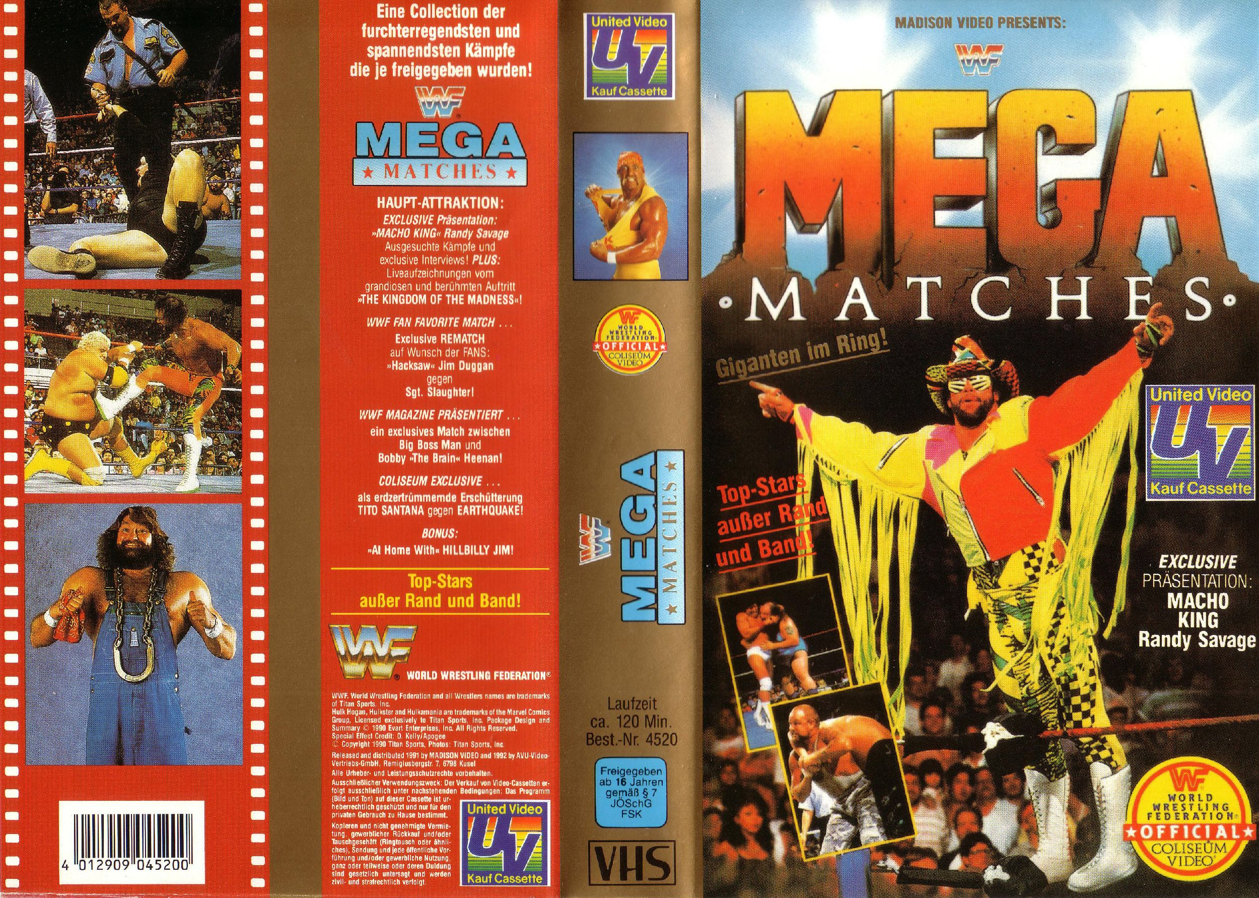 WWF_Mega_Matches_-_Cover