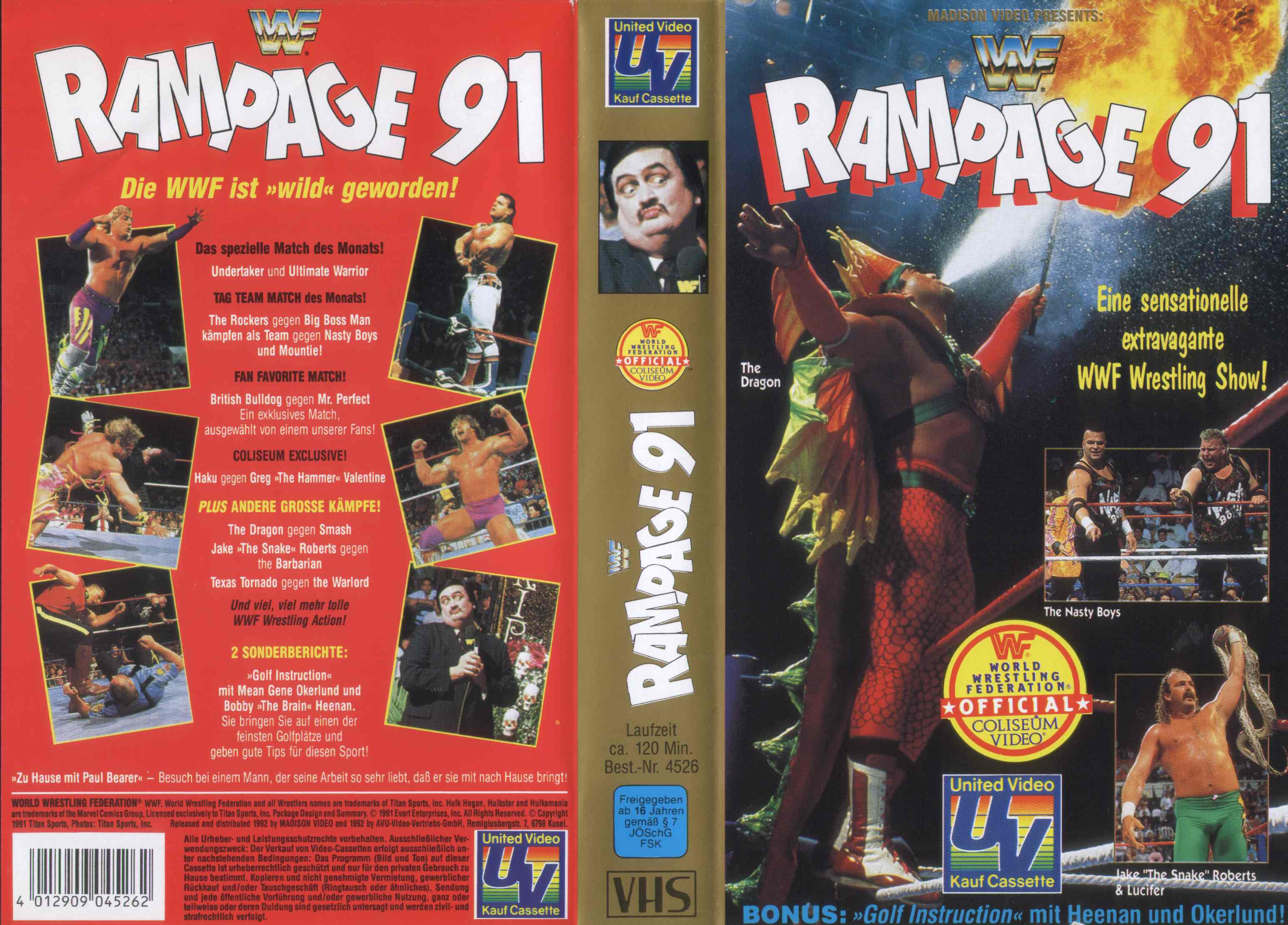 WWF_Rampage_91_-_Cover
