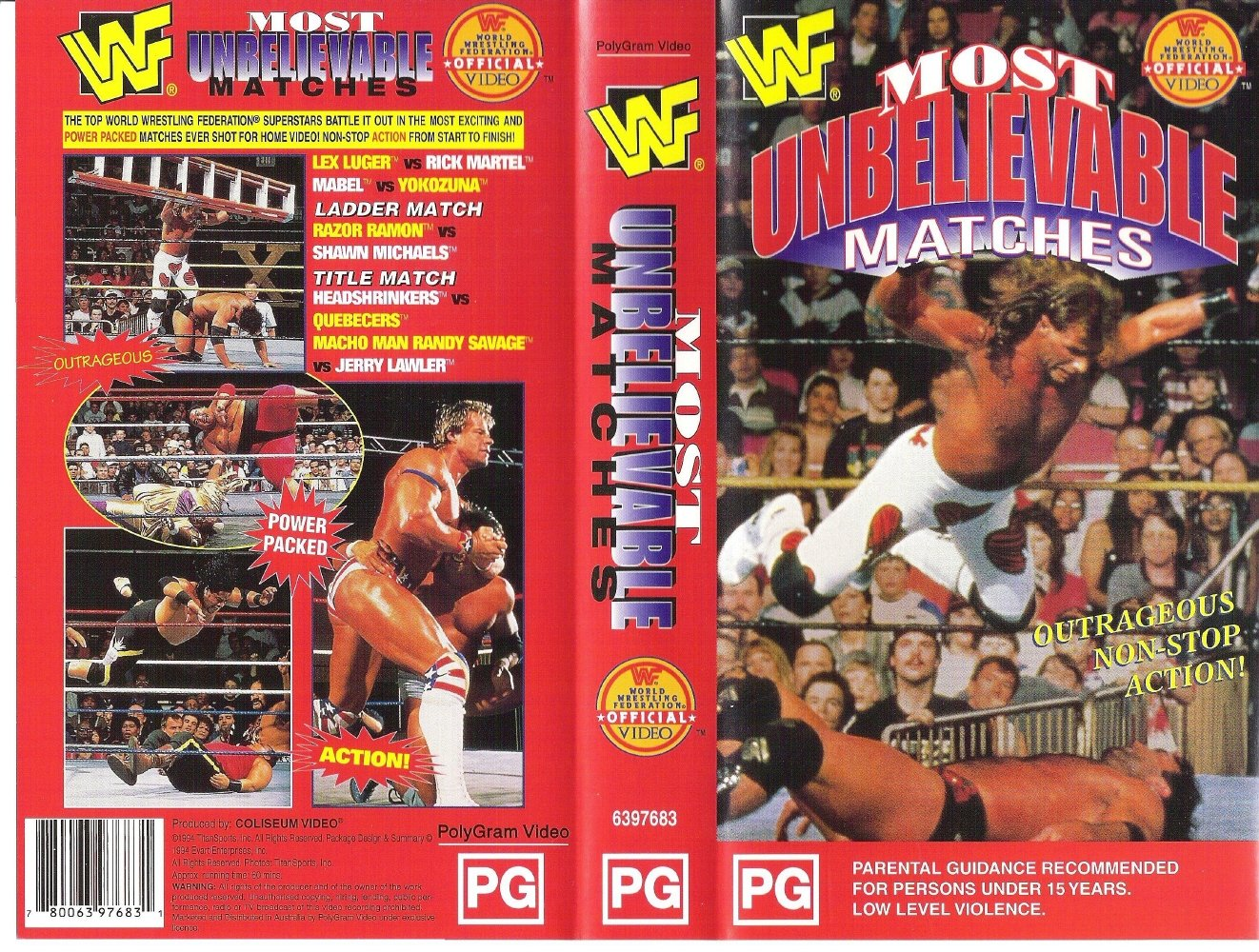 Wwf_Most_Unbelievable_Matches-front