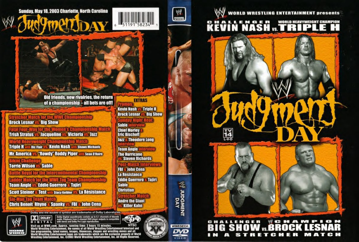 judgmentday2003dvd