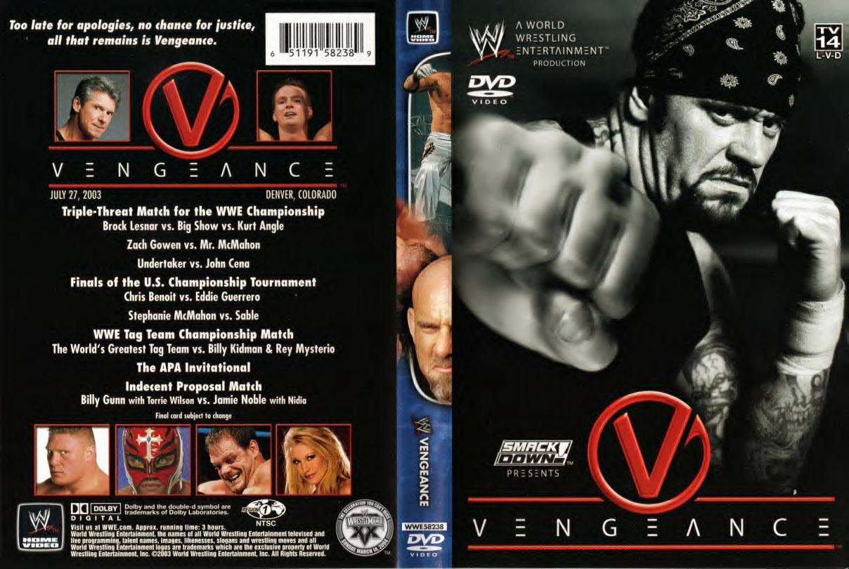 vengeance2003dvd