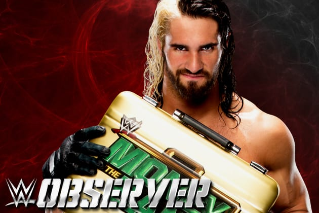 """Mr. Money in the Bank"" Seth Rollins"