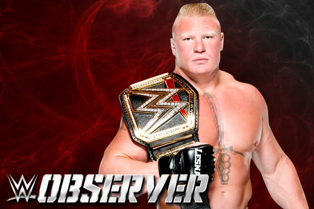 """The Beast Incarnate"" Brock Lesnar"