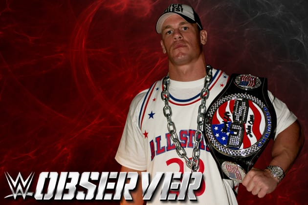 John Cena as WWE United States Champion