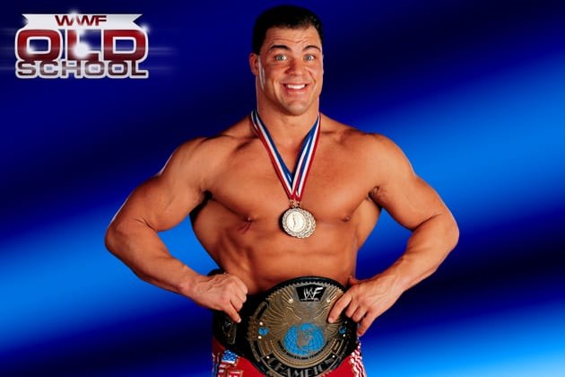 WWF Champion Kurt Angle