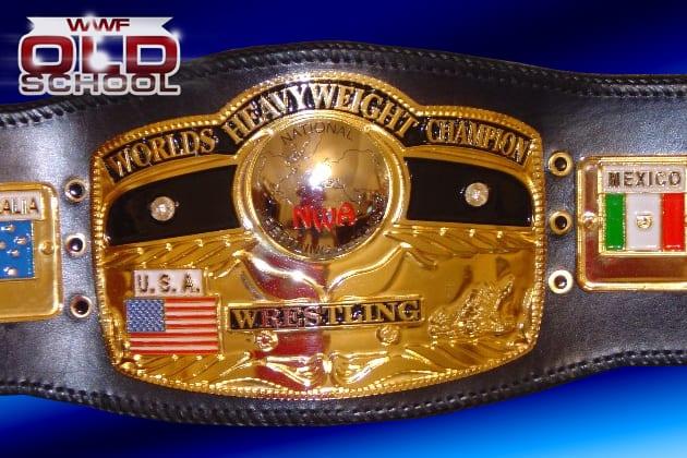 NWA World Heavyweight Championship belt