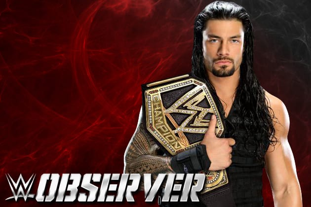 Roman Reigns WWE Champion
