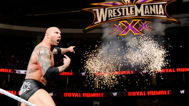 Batista Royal Rumble 2014