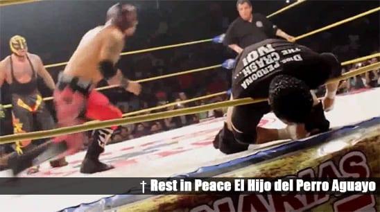 Rest in Peace Hijo Del Perro Aguayo