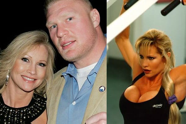 Sable & Brock Lesnar WWE couple