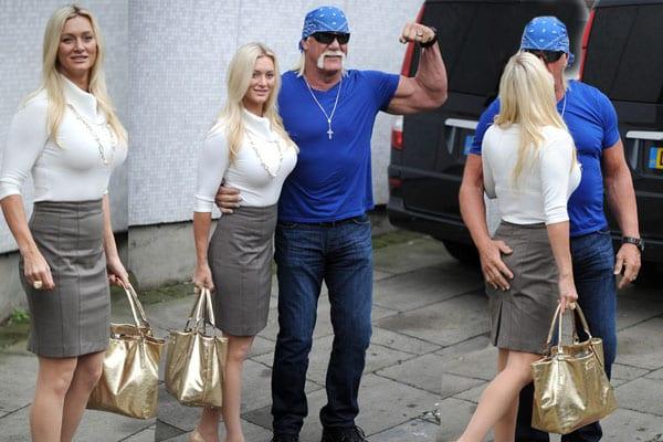 Jennifer McDaniel & Hulk Hogan