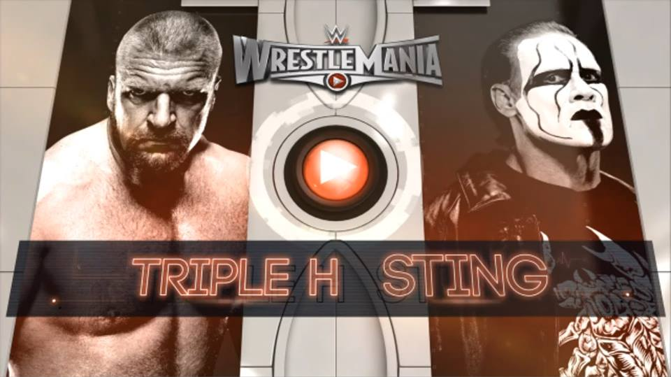 Triple H vs. Sting - WrestleMania 31