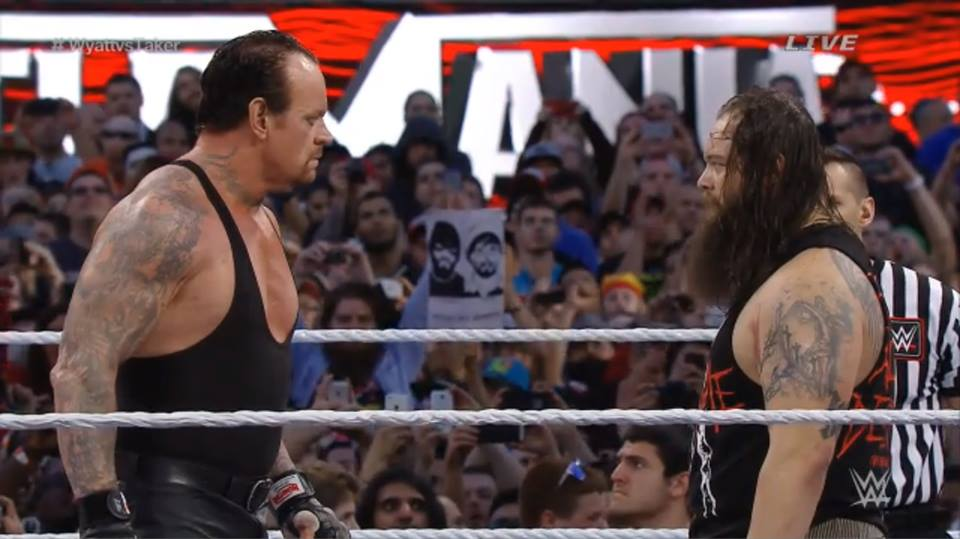 The Undertaker vs. Bray Wyatt - WrestleMania 31