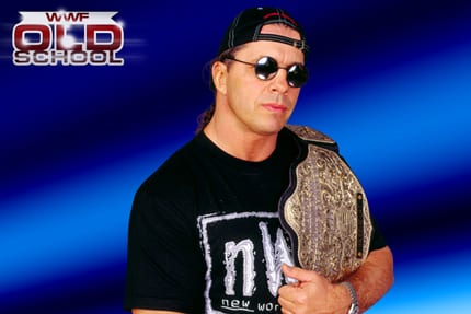 Bret Hart as WCW World Heavyweight Champion