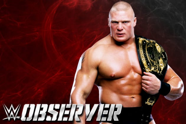 Brock Lesnar - WWE Champion