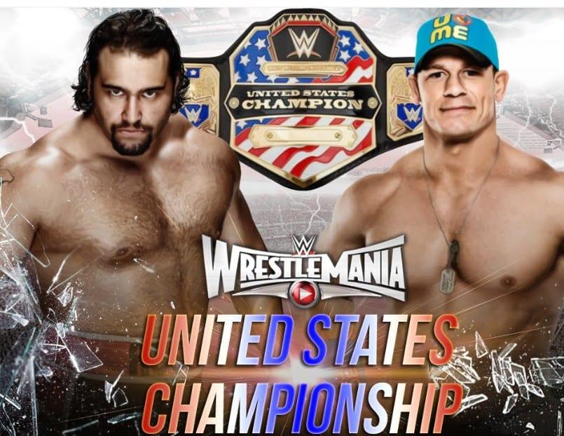 Rusev vs. John Cena - WrestleMania 31
