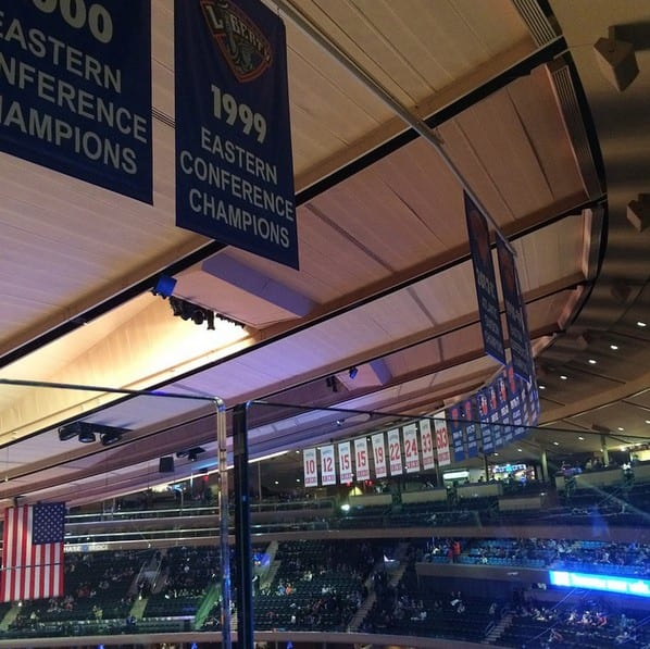 Hulk Hogan's MSG Banner Removed
