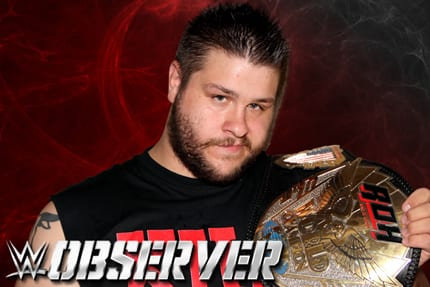Kevin Steen as ROH World Champion