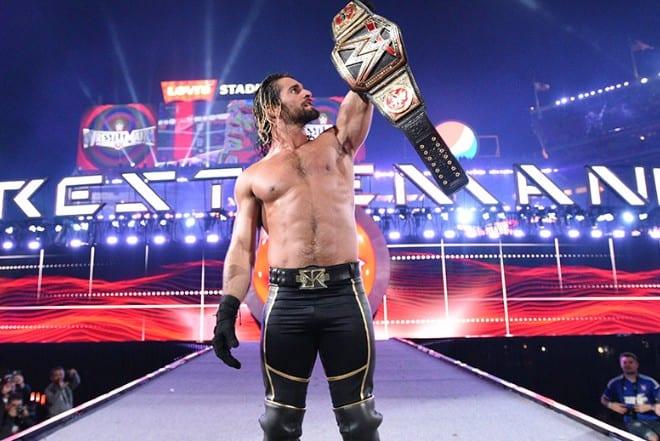 Seth Rollins as WWE World Heavyweight Champion