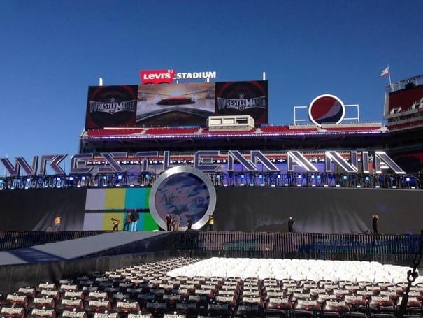 WrestleMania 31 Set