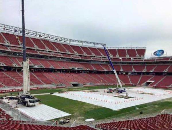 WrestleMania 31 stadium