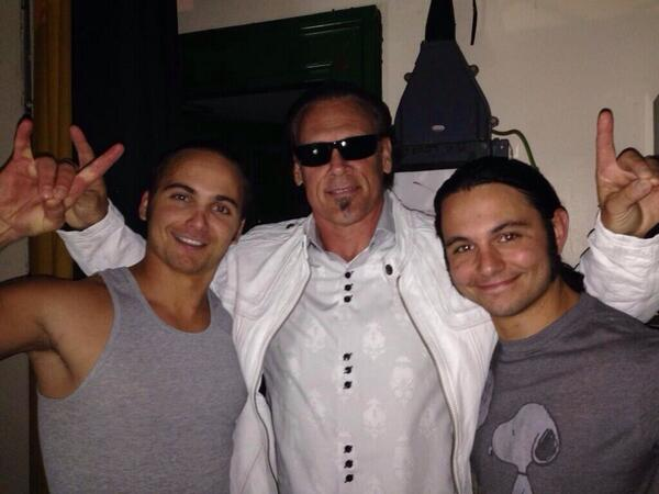 The Young Bucks with Sting