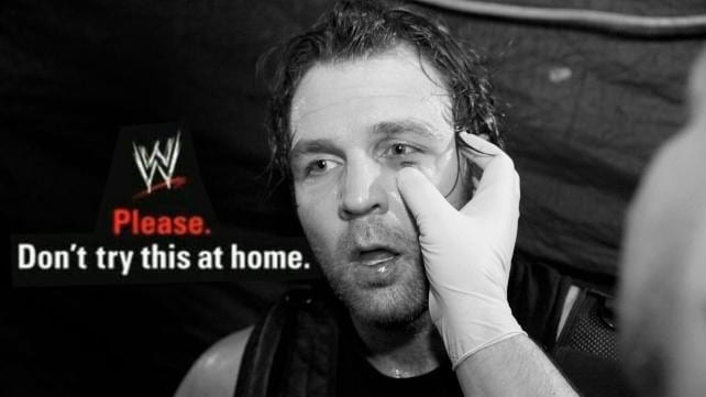 WWE Don't Try This At Home Motto