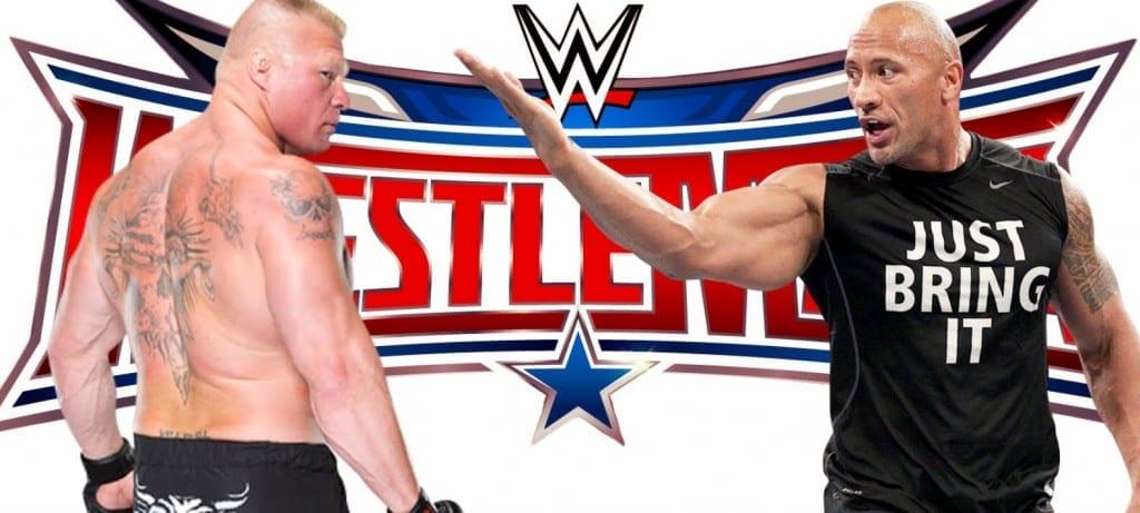 The Rock vs. Brock Lesnar - WrestleMania 32