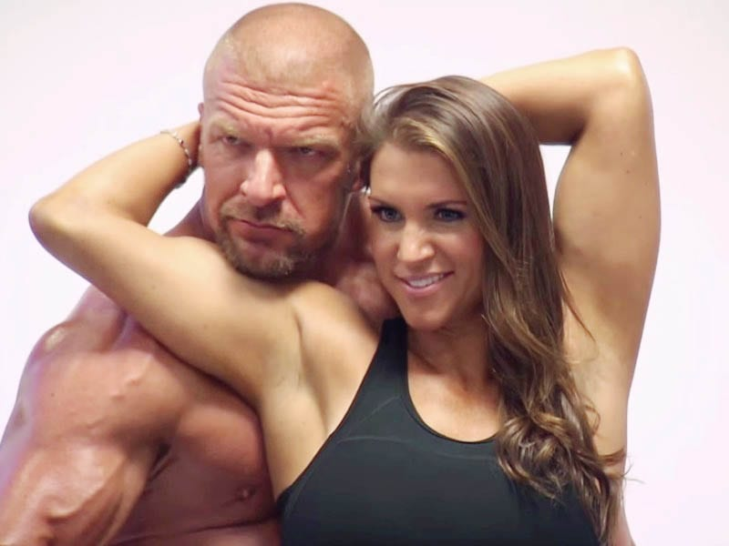 Stephanie Mcmahon Triple h Pictures Stephanie Mcmahon With Triple