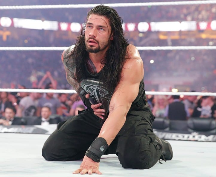 Roman Reigns at WrestleMania 31