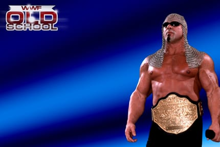 Scott Steiner as the WCW World Heavyweight Champion