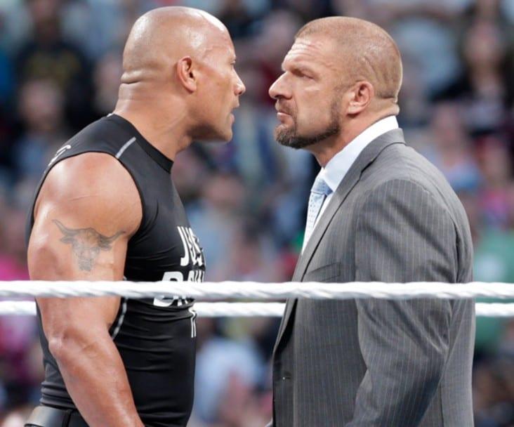 The Rock vs. Triple H - WrestleMania 32 ?